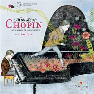 NORAC Carl / JACQUOT Delphine - Mr. Chopin or The Journey of the Blue Note - Book - di-arezzo.com