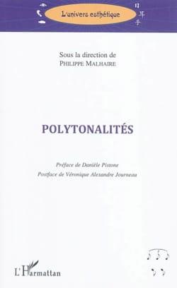 Polytonalités MALHAIRE Philippe dir. Livre laflutedepan