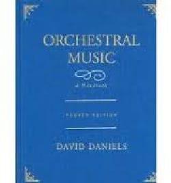 Orchestral music - David DANIELS - Livre - laflutedepan.com