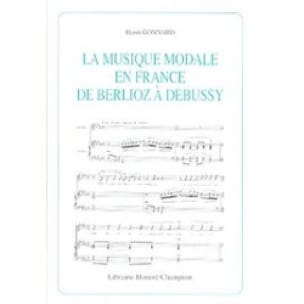 Henri GONNARD - Modal music in France from Berlioz to Debussy - Livre - di-arezzo.com