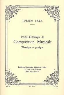 Julien FALK - Precise technique of musical composition - Livre - di-arezzo.co.uk
