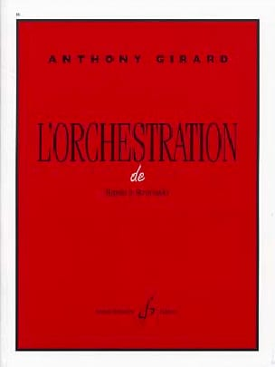 Anthony GIRARD - The orchestration of Haydn at Stravinsky - Livre - di-arezzo.com