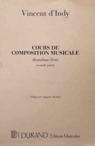 Cours de composition musicale : vol. 2, 2ème partie - laflutedepan.com