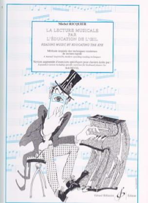 Michel RICQUIER - Lectura musical por la educación de The Eye - Livre - di-arezzo.es