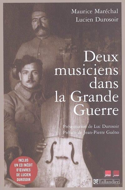 Deux musiciens dans la Grande Guerre - laflutedepan.com