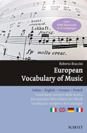 Roberto BRACCINI - European Vocabulary of Music - Livre - di-arezzo.co.uk