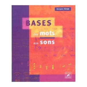 Jacques SIRON - Basics: words to sounds - Livre - di-arezzo.com