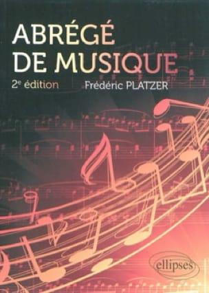 Abrégé de musique, 2e édition augmentée - laflutedepan.com
