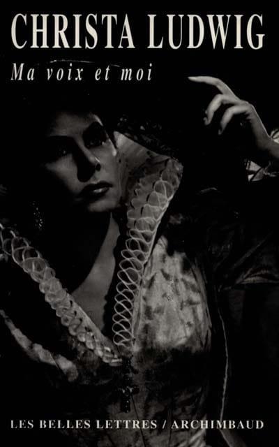Ma voix et moi - Christa LUDWIG - Livre - laflutedepan.com