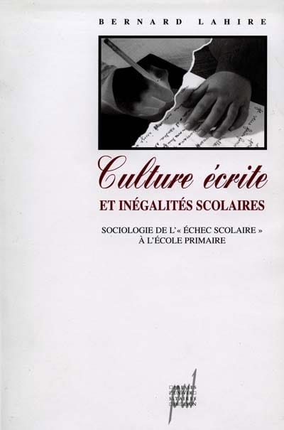 Culture écrite et inégalités scolaires - laflutedepan.com
