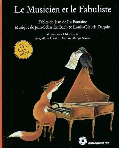 Le musicien et le fabuliste : 14 fables de Jean de La Fontaine - laflutedepan.com