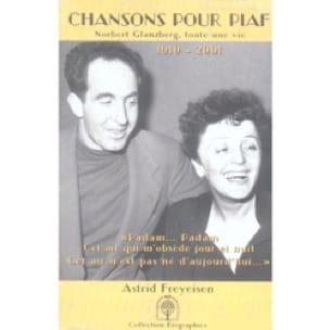 Chanson pour Edith Piaf - Astrid FREYESEN - Livre - laflutedepan.com