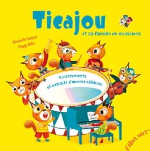 Christelle SAQUET - Ticajou y su familia de músicos - Livre - di-arezzo.es