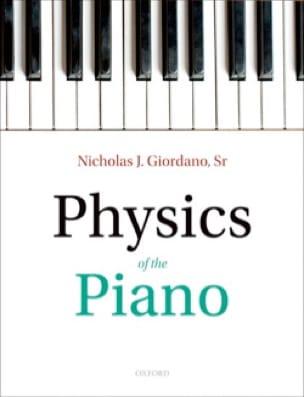 Physics of the Piano - Nicholas GIORDANO - Livre - laflutedepan.com