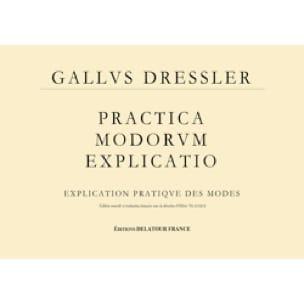 Practica modorum explicatio - Explication pratique des modes - laflutedepan.com