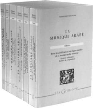 La musique arabe - Rodolphe D'ERLANGER - Livre - laflutedepan.com