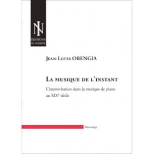 La musique de l'instant - ORENGIA Jean-louis - laflutedepan.com