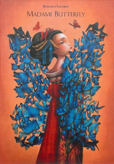 Madame Butterfly - Benjamin LACOMBE - Livre - laflutedepan.com