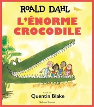 L'énorme crocodile - Roald DAHL - Livre - laflutedepan.com