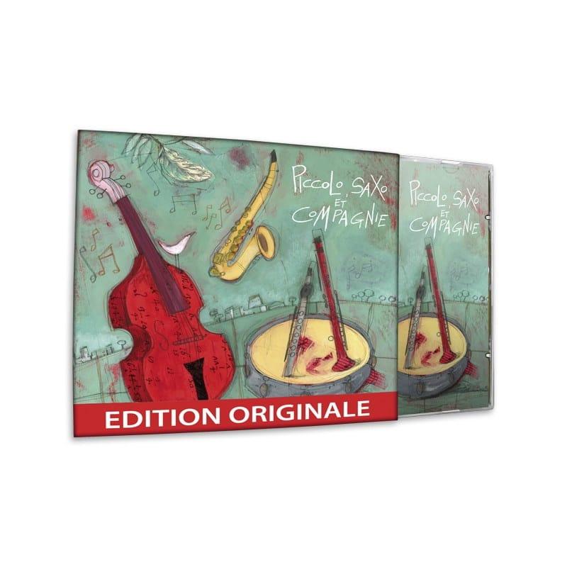 Piccolo, Saxo et compagnie - André POPP - Livre - laflutedepan.com