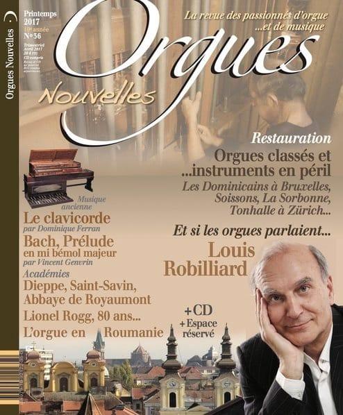 Orgues Nouvelles, n° 36 - Printemps 2017 - Revue - laflutedepan.com