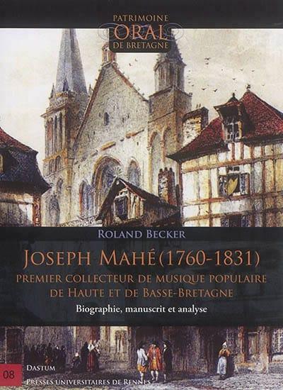 Joseph Mahé (1760-1831) - Roland BECKER - Livre - laflutedepan.com