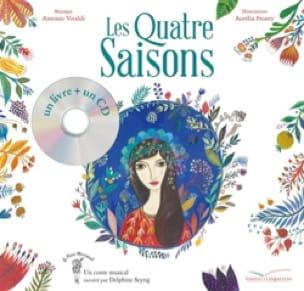 VIVALDI Antonio / FREDERIC Claire - Les quatre saisons - Livre - di-arezzo.fr