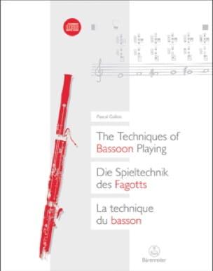 La technique du basson (Livre trilingue français - anglais - allemand) - laflutedepan.com