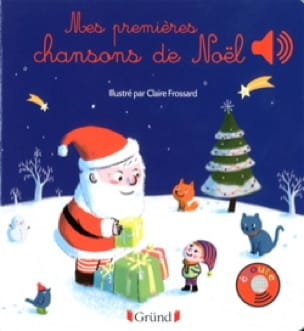 Mes premières chansons de Noël - Claire FROSSARD - laflutedepan.com