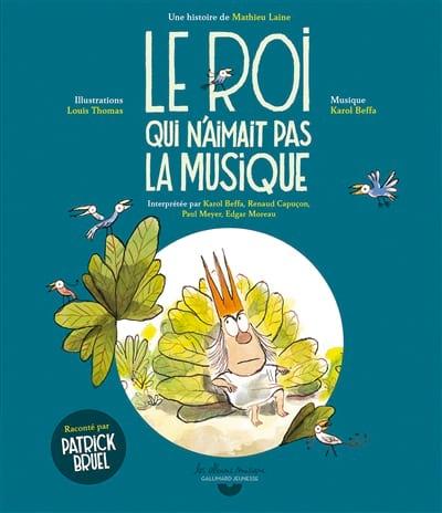Le roi qui n'aimait pas la musique - Mathieu LAINE - laflutedepan.com