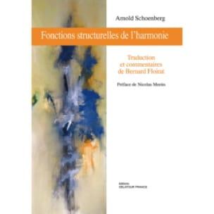 Fonctions structurelles de l'harmonie - SCHOENBERG - laflutedepan.com