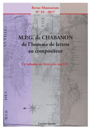 Musicorum n° 19 (2018) - M. P. G. de Chabanon - laflutedepan.com