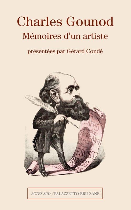 Mémoires d'un artiste - GOUNOD - Livre - laflutedepan.com