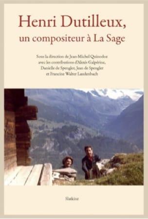 Henri Dutilleux, un compositeur à La Sage - laflutedepan.com