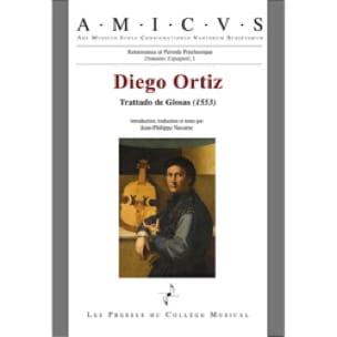 Trattado de Glosas (1553) - Diego ORTIZ - Livre - laflutedepan.com
