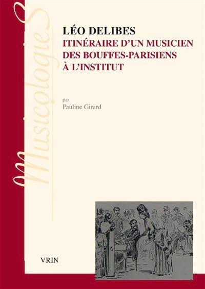 Léo Delibes - Pauline GIRARD - Livre - Les Hommes - laflutedepan.com