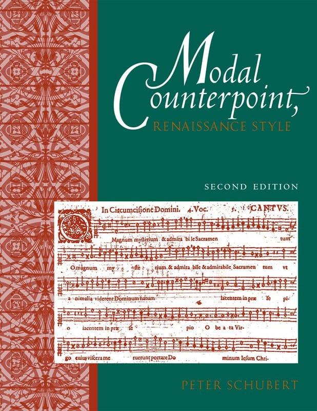 Peter SCHUBERT - Modal counterpoint, Renaissance style - Livre - di-arezzo.com