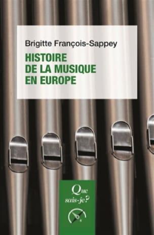 FRANÇOIS-SAPPEY Brigitte - History of music in Europe - Livre - di-arezzo.co.uk