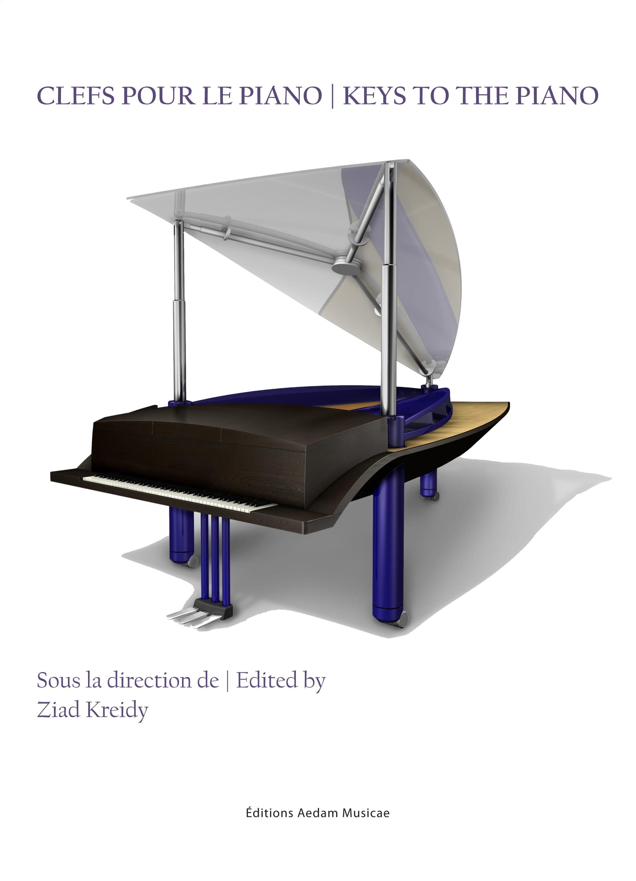Clefs pour le piano - Keys to the piano - laflutedepan.com