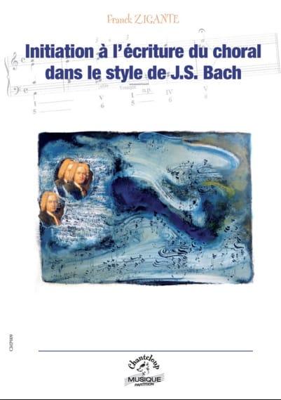 Initiation à l'écriture du choral dans le style de J.-S. Bach - laflutedepan.com