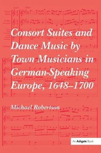 Consort suites and dance music by town musicians in German speaking Europe - laflutedepan.com