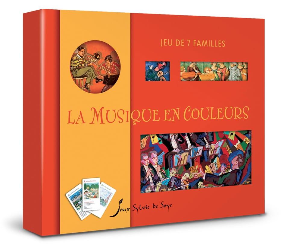 Jeu des 7 familles : la musique en couleurs - Jeu - laflutedepan.com
