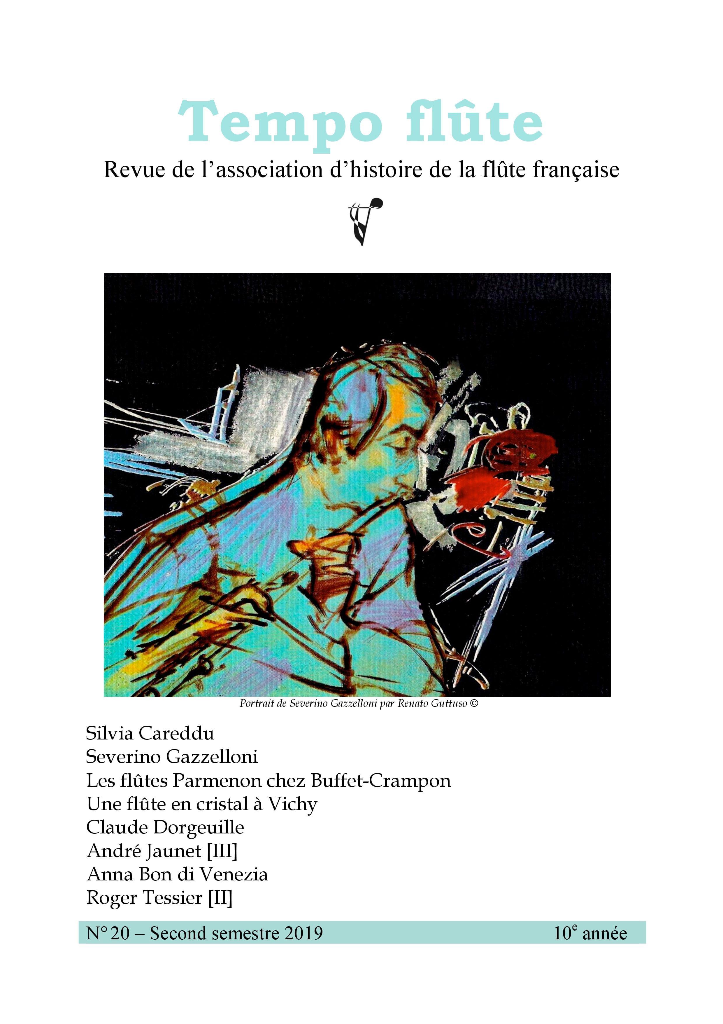 Tempo flûte, n° 20 (2nd semestre 2019) - Revue - laflutedepan.com