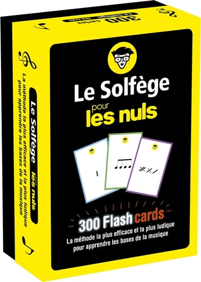 Hugo PRIGENT - Music theory for dummies: 300 flashcards - Livre - di-arezzo.co.uk