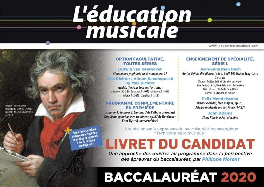 Revue - Music Education - Candidate's Booklet - Baccalaureate 2020 - Livre - di-arezzo.co.uk