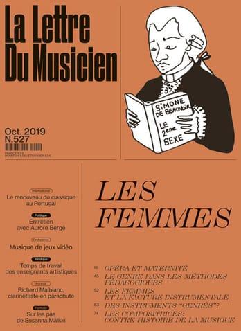 La lettre du musicien, n° 527 (octobre 2019) - Les femmes - laflutedepan.com