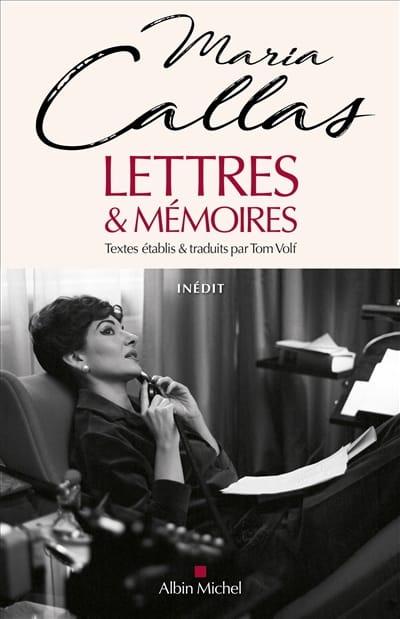 Maria CALLAS - Lettres & mémoires - Livre - di-arezzo.fr