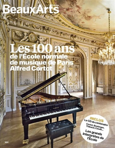 Revue - The 100th anniversary of the Alfred Cortot School of Music Paris - Livre - di-arezzo.com
