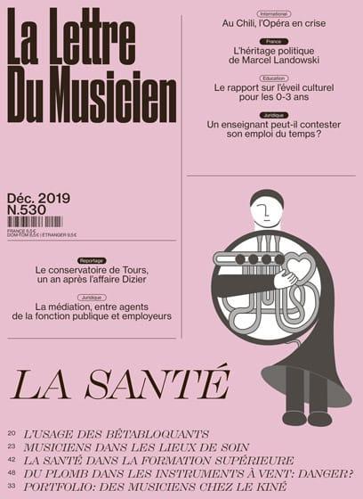 La Lettre du Musicien n°530 : La Santé - Revue - laflutedepan.com