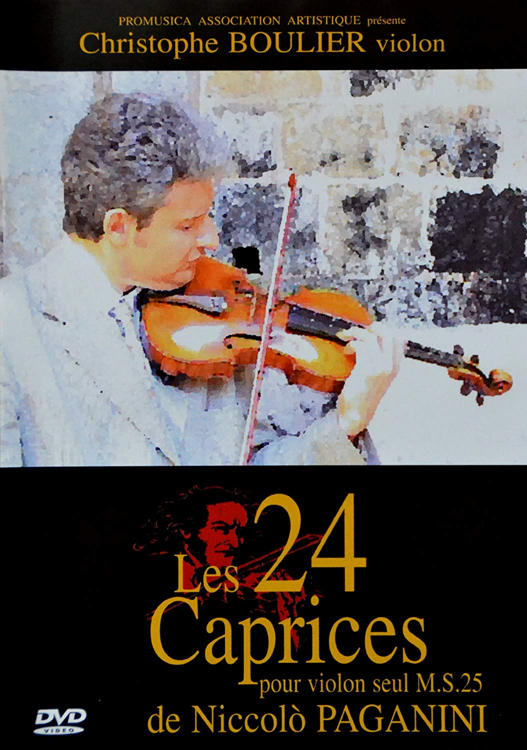 Christophe BOULIER - The 24 caprices of Paganini for solo violin - Livre - di-arezzo.com